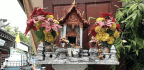 The Spirit Houses Of Bangkok Keep Watch Over A Frenetic Modern City