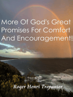More Of God's Great Promises For Comfort And Encouragement!