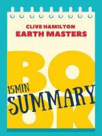 "15 min Book Summary of Klive Hamilton's book ""Earth Masters"""