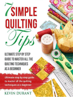 7 Simple Quilting Tips