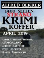 1400 Seiten Strand Krimi Koffer April 2019