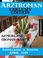 Arztroman Sammelband 4 Romane April 2019
