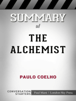 Summary of The Alchemist by Paulo Coelho   Conversation Starters