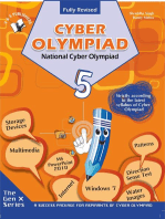 National Cyber Olympiad - Class 5 (With CD): Theories with examples, MCQs & solutions, Previous questions, Model test papers