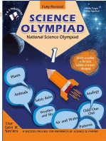 National Science Olympiad - Class 1 (With CD): Theories with examples, MCQs & solutions, Previous questions, Model test papers