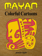 Mayan Colorful Cartoons