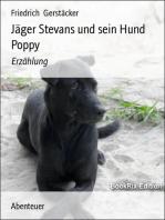 Jäger Stevans und sein Hund Poppy