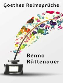 Goethes Reimsprüche