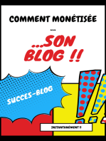 monétisez instantanément votre blog