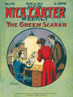 Nick Carter #741 - The Green Scarab