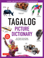 Tagalog Picture Dictionary: Learn 1,500 Tagalog Words and Expressions - The Perfect Resource for Visual Learners of All Ages (Includes Online Audio)