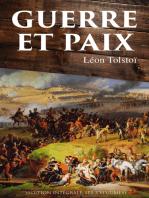 Guerre et Paix (Edition intégrale