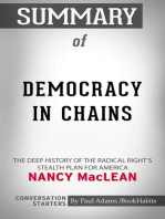 Summary of Democracy in Chains