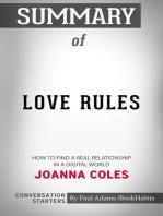 Summary of Love Rules