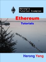 Ethereum Tutorials - Herong's Tutorial Examples