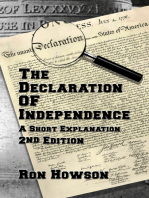 The Declaration Of Independence, A Short Explanation, 2nd Edition
