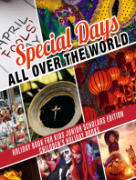 Special Days All Over the World | Holiday Book for Kids Junior Scholars Edition| Children's Holiday Books