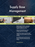 Supply Base Management A Complete Guide - 2019 Edition
