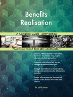 Benefits Realisation A Complete Guide - 2019 Edition