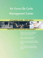 Air Force Life Cycle Management Center A Complete Guide - 2019 Edition