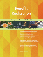 Benefits Realization A Complete Guide - 2019 Edition