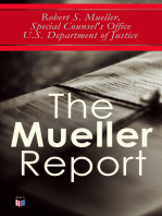 The Mueller Report: The Law behind the Jurisdiction and the Power of a Special Counsel & Full Report on the Investigation into Russian Interference in the 2016 Presidential Election
