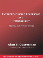 Entrepreneurship, Leadership and Management