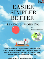 Easier Simpler Better Living & Working