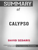 Summary of Calypso by David Sedaris   Conversation Starters