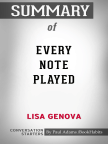Summary of Every Note Played by Lisa Genova | Conversation Starters
