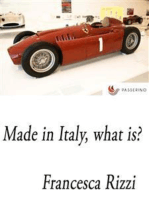Made in Italy, what is?