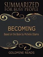 Becoming - Summarized for Busy People