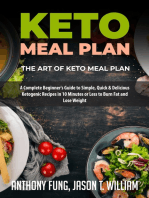 Keto Meal Plan - The Art of Keto Meal Plan