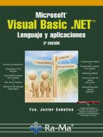 Microsoft Visual Basic .NET. Lenguaje y aplicaciones. 3ª Edición.