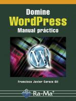 Domine WordPress. Manual práctico: Programación de web