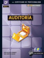 Auditoría (MF0232_3): FINANZAS Y CONTABILIDAD
