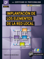 Implantación de los elementos de la red local (MF0220_2)