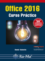 Office 2016. Curso Práctico