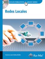 Redes Locales: REDES Y COMUNICACIONES INFORMÁTICAS