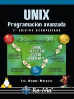 Unix Programacion Avanzada, 3ª edicion.: PROGRAMACIÓN INFORMÁTICA/DESARROLLO DE SOFTWARE
