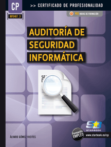 Auditoría de Seguridad Informática (MF0487_3): SEGURIDAD INFORMÁTICA