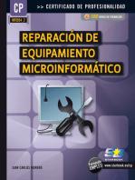 Reparación del Equipamiento Informático (MF0954_2)
