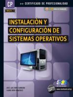 Instalación y Configuración de Sistemas Operativos