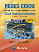 Redes CISCO. Guía de estudio para la certificación CCNA Routing y Switching. 4ª Ed. Act.