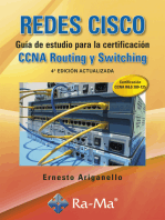 Redes CISCO. Guía de estudio para la certificación CCNA Routing y Switching. 4ª Ed. Act.