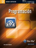 Programación (GRADO SUPERIOR): PROGRAMACIÓN INFORMÁTICA/DESARROLLO DE SOFTWARE