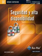 Seguridad y Alta Disponibilidad (GRADO SUPERIOR)