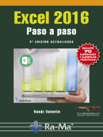 Excel 2016. Paso a paso. 2ª Edición Actualizada: Ventas y marketing