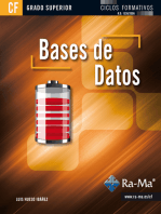 Bases de Datos (GRADO SUPERIOR): BASES DE DATOS