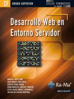 Desarrollo web en entorno servidor (GRADO SUPERIOR)